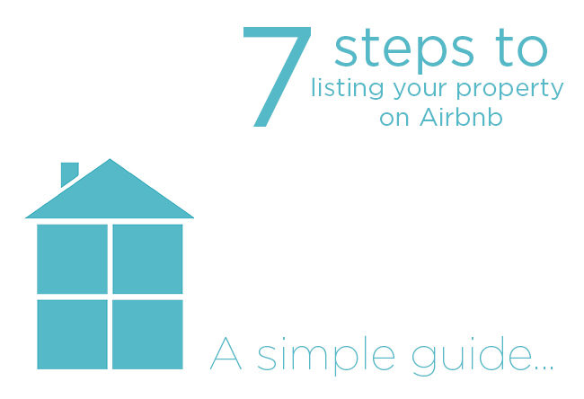 7steps to listing your property on Airbnb