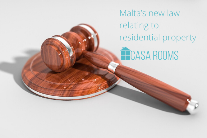 Malta's new law relating to residential property